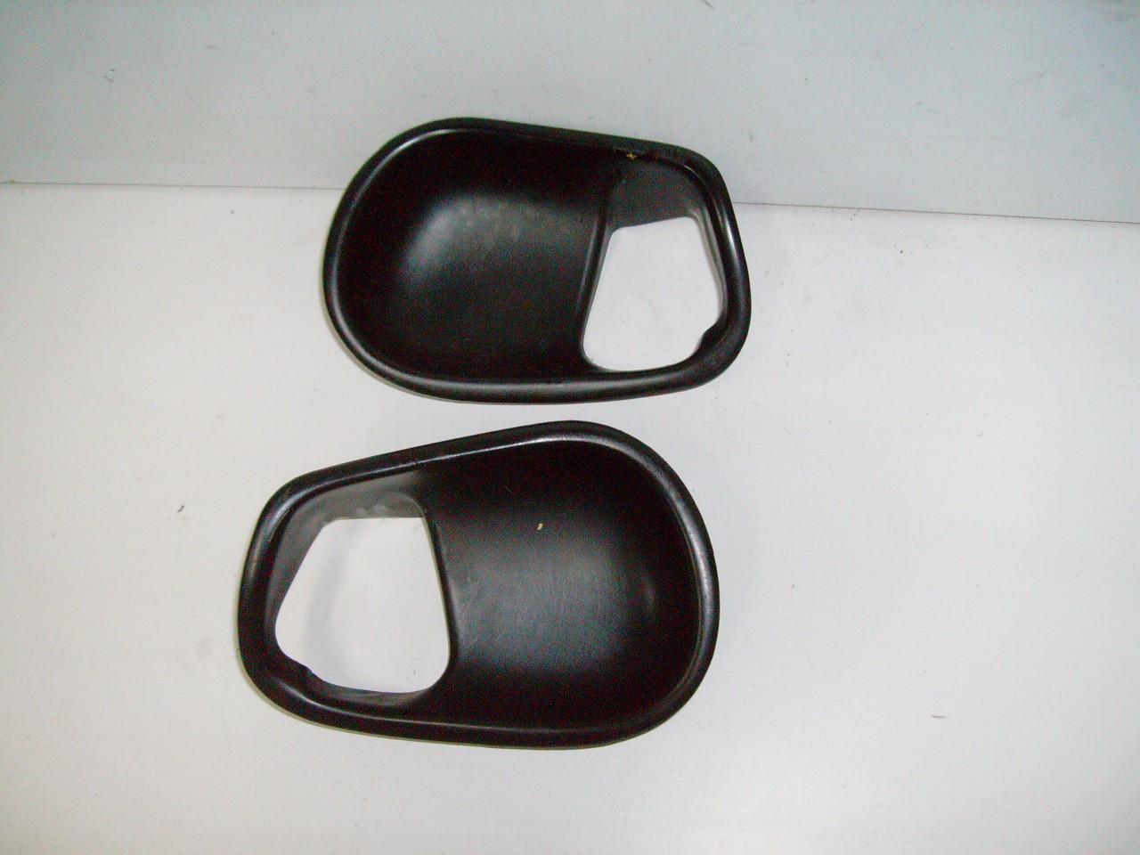 1994 2004 Ford Mustang Black Charcoal Door Panel Handle Interior Trim