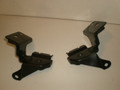 1994-1998 Ford Mustang Convertible Seat Safety Belt Front Mounting Brackets Braces Lx Gt Cobra