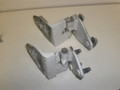 1998-2002 Jaguar XJ8 Vanden Plas Right Front Door Hinges Top Bottom Set AXX 001696 AXX 001684 White