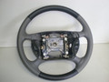 1994-2004 Ford Mustang Gray & Charcoal Leather Steering Wheel W/ Cruise Control XR3Z-3600-BB ZR3Z-3600-BAA
