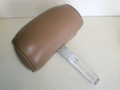 1994-1998 Ford Mustang Front Seat Back Leather Head Rest Tan Camel  Adjustable GT LX