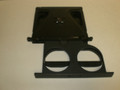 1995-1999 Subaru Legacy Outback Black Charcoal Gray Dash Cup Holder Insert Bezel Trim 66240-AC010 66230A-C010MU