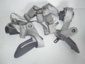 1993-1995 Lincoln Mark 8 VIII Gray Rear Seat Belts Safety Set Back Left & Right Center Lap Retractor Sides & Buckles Latches F3LY-63611B68-E 63611B69-C F3LY-6360044-C 6360045