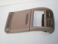 1995-2001 Ford Explorer Mercury Mountaineer Center Console Rear Trim Vent Cup Holder Finisher Tan V73810 TL6523 F57Z-78045E24-B
