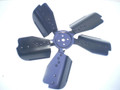 1971-1973 Ford Mustang Mercury Cougar 302 351 5 Blade Engine Cooling Fan CF-D2SE-8600-AA Date A73