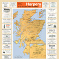 The 1960 Distillery Map of Scotland