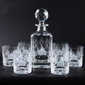 Traditional Whisky Decanter & Glass Set
