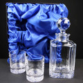 Regal Crystal Whisky Set in Satin Box