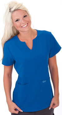 Shown in Royal Blue. Model is wearing XSmall.