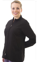 Shown in Black. Model is wearing size Xsmall