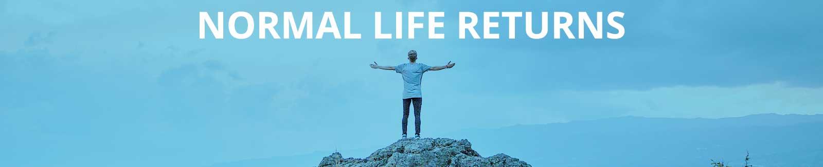 Pranicure - Normal life returns