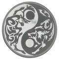"2014 PREDATOR PREY .999 Silver Coin w/ Palladium $5 ""Caribou vs Wolf"""