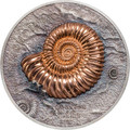 2015 AMMONITE Series EVOLUTION OF LIFE Silver Coin 500 Togrog - Mongolia