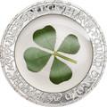 2016 Palau $5 Proof Silver Coin Four Leaf Clover - Ounce of Luck