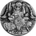 2016 LEGEND OF ASGARD - ODIN Ruler of the Aesir 3 oz Silver Coin Tokelau