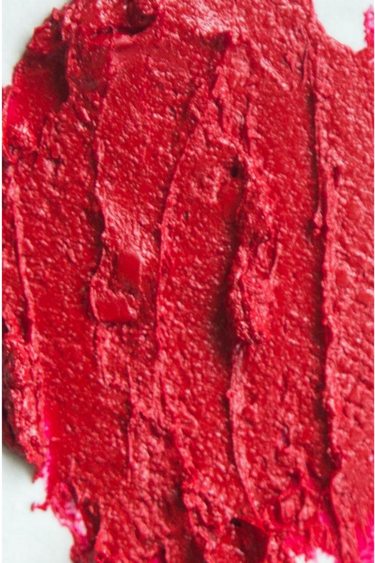 Aromi Jacqueminot Lipstick Swatch - True Red