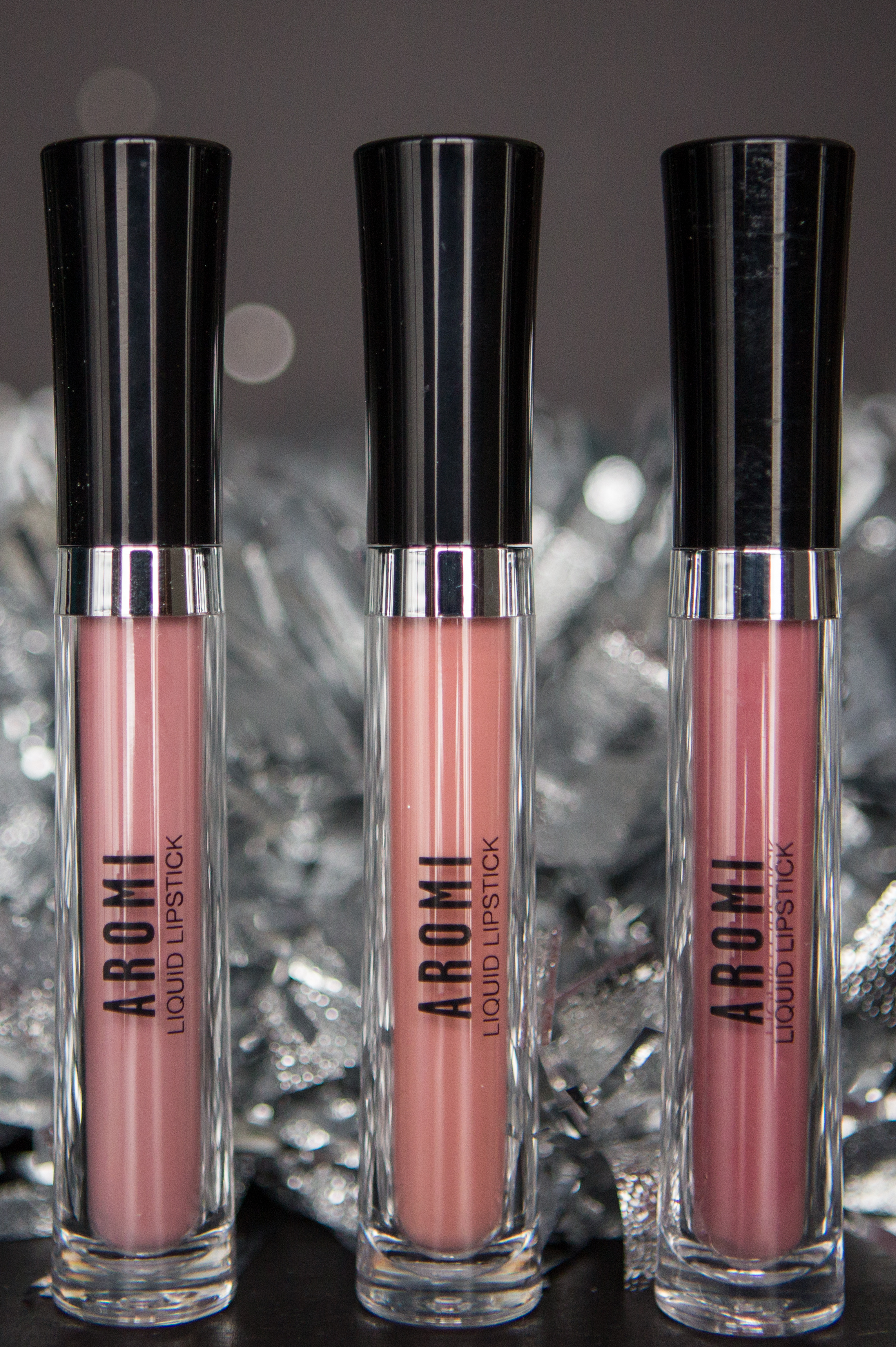 Aromi Nude Liquid-to-Matte Lipsticks