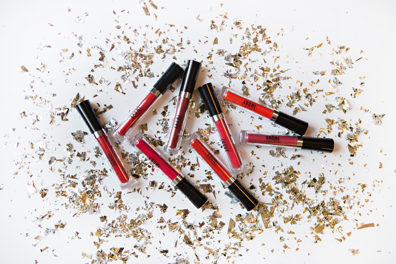 Aromi Red Liquid Lipsticks
