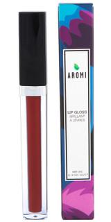 burgundy lip gloss