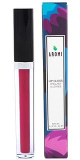magenta lip gloss