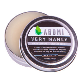 Aromi Very Manly solid cologne