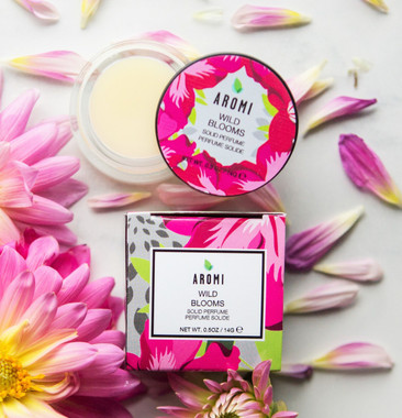 wild blooms solid perfume handcrafted in Minnesota