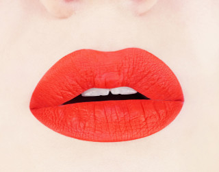 Vibrant Orange Matte Liquid Lipstick
