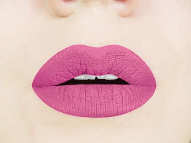 poodle skirt liquid lipstick swatch