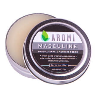 aromi masculine solid cologne