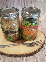 Ancient Grain, Assorted Salads in a Jar!