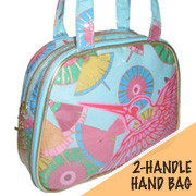 Vain Jane 2-Handle Birds Bag