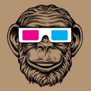 3D Monkey T-Shirt