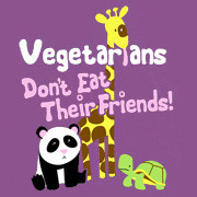 Vegetarians Don&#039;t Eat Their Friends T-Shirt