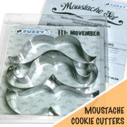 Moustache Cookie Cutter Set