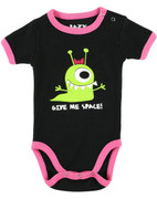 LazyOne Girls Give Me Space BabyGrow Vest (infant creeper)
