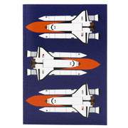 Robert William - A6 Space Shuttle Notebook