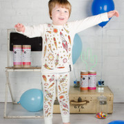 Selfie Clothing - Space Adventure Colour in Pyjamas