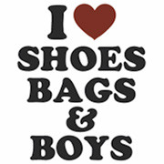 I Love Shoes Bags and Boys T-Shirt