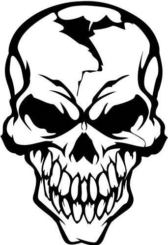 car decals   car stickers skull car decal 09 anydecals