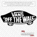 surf decals, skate decals, surf stickers, skate stickers, vans car decals, car decals, car stickers, decals for cars, stickers for cars