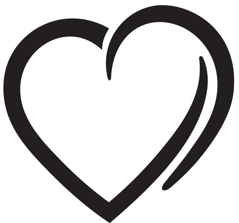 Heart Car Decals Car Stickers Heart Car Decal 13