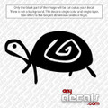 Leonardo the Turtle Car Decal