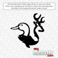 Hunting Fish - Duck - Deer Car Decal