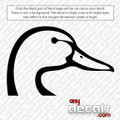 Duck Hunting Car Decal
