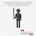 Star Wars Themed Car Stickers & Decals - Like Luke Skywalker