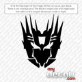 Cybertronian Transformer Car Decal