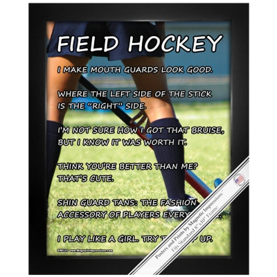 Field Hockey Gifts MagneticImpressionscom - Custom field hockey car magnets