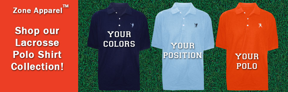 Shop Men's Lacrosse Polo Shirts