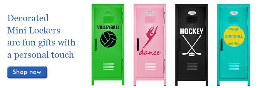Decorated Mini Lockers for Kids