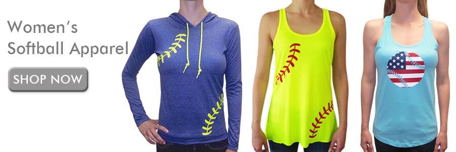 Shop Women's Softball Apparel